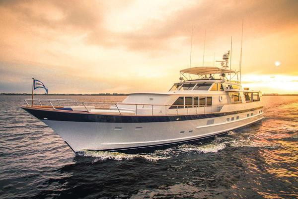 86-ft-Burger-1987-Raised Pilot House-Adventurer Cape Coral Florida United States  yacht for sale