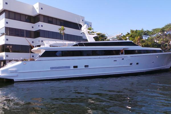 116-ft-Denison-1987--AMG Unknown Florida United States  yacht for sale