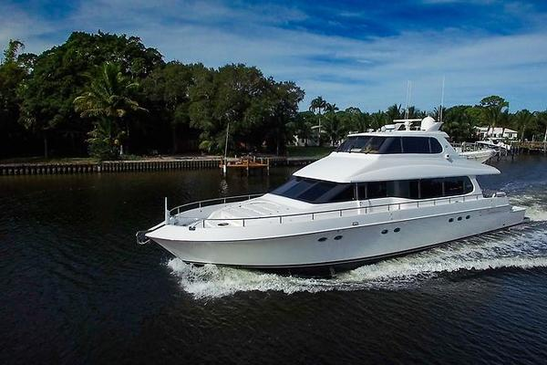 80-ft-Lazzara-2001-Skylounge-Kaleidoscope Lighthouse Point Florida United States  yacht for sale