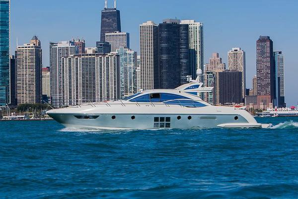 62-ft-Azimut-2008-62S-La Dolce Vita Chicago Illinois United States  yacht for sale