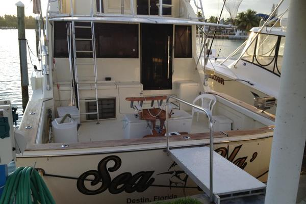 1986 Chris-Craft 58' Convertible Sea Ya | Picture 4 of 21