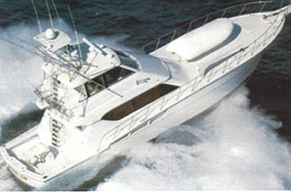 Picture Of: 60' Hatteras Enclosed Bridge Convertible 1999 1999 Yacht For Sale | 1 of 10