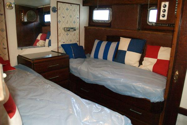 1958 Trumpy 57' Flush Deck Cruiser Christy Girl | Picture 3 of 24