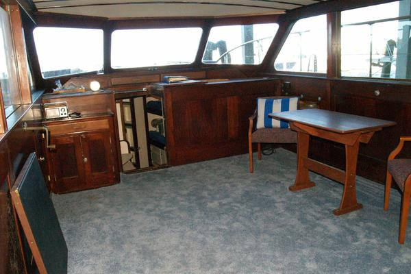 1958 Trumpy 57' Flush Deck Cruiser Christy Girl | Picture 1 of 24