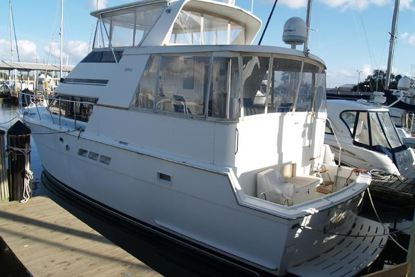 48-ft-Hatteras-1996-48 Cockpit Motoryacht-Miss Lynn New Orleans Louisiana United States  yacht for sale