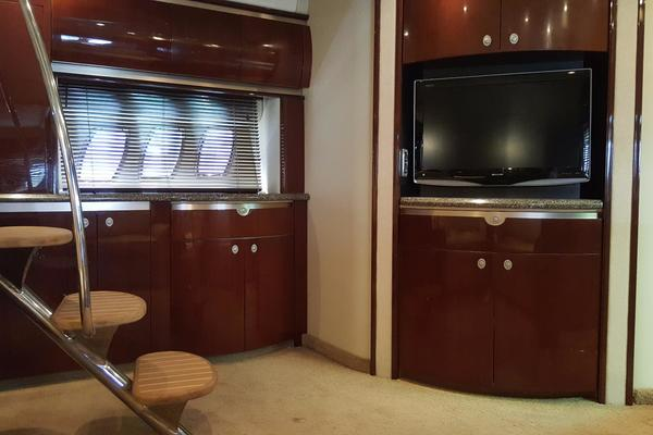 2008 Sea Ray 52 Sundancer  Port Profile
