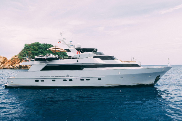 Picture Of: 98' Poole Boat Company Raised Pilothouse with Cockpit 1986 Yacht For Sale   2 of 49