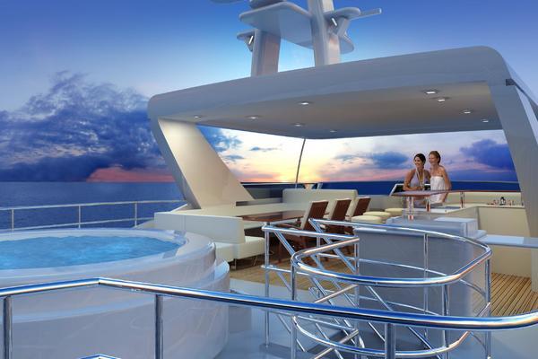 2021Custom 100 ft Tri Deck Explorer Yacht