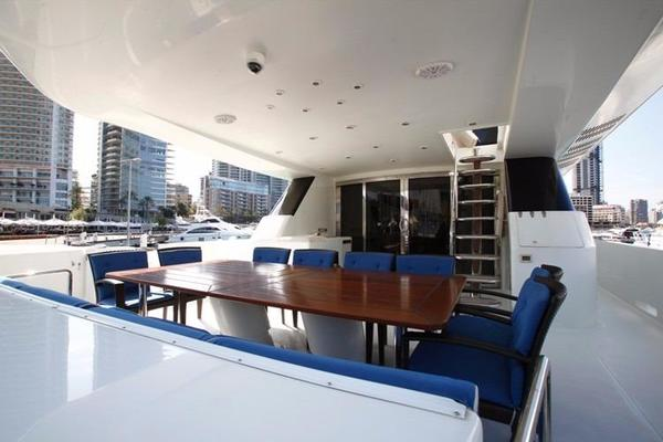 1998 Trident 127' Motor Yacht TAMTEEN | Picture 1 of 33