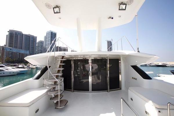 1998 Trident 127' Motor Yacht TAMTEEN | Picture 5 of 33