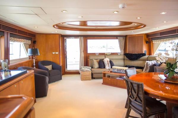 2001 Hargrave 90' Enclosed Bridge Motor Yacht Common Cents | Picture 6 of 73