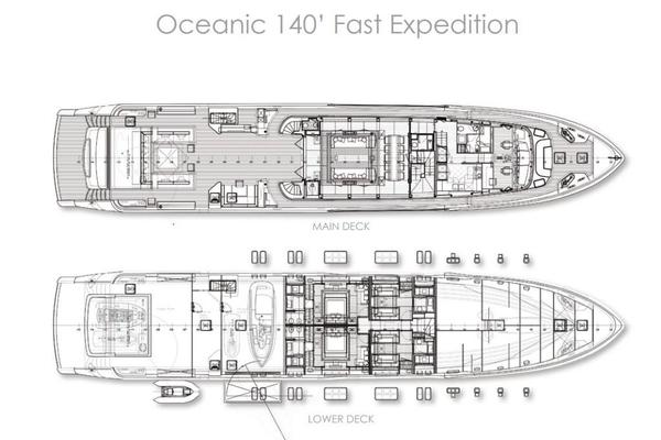 2018 Canados 140' Oceanic Fast Expedition  | Picture 4 of 12