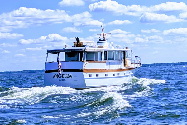 Picture Of: 63' Trumpy Houseboat 1969 Yacht For Sale | 3 of 30