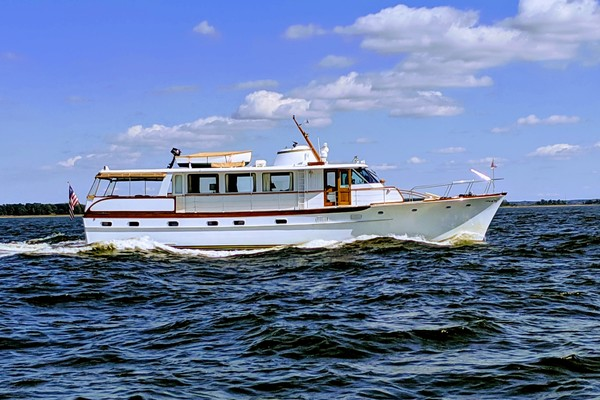 Picture Of: 63' Trumpy Houseboat 1969 Yacht For Sale | 1 of 30