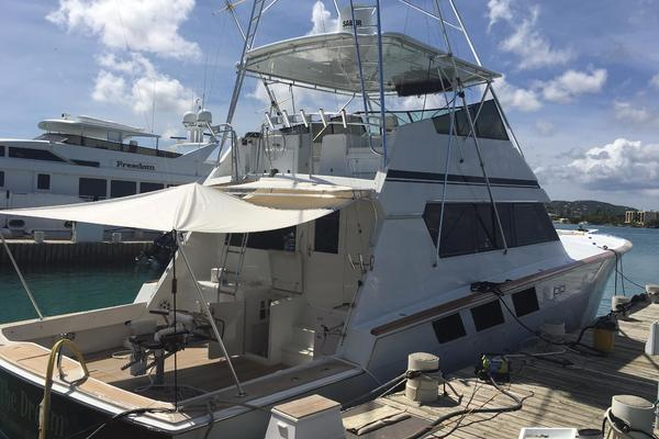 1988Hatteras 65 ft 65 Convertible   Living the Dream