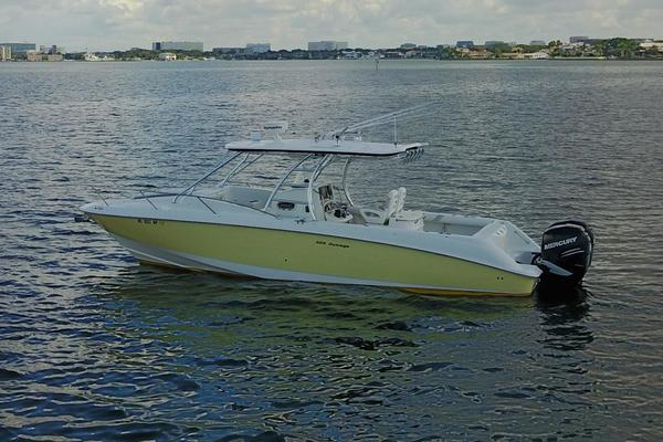 32' Boston Whaler 320 Outrage Cuddy Cabin 2008 | Reel Job