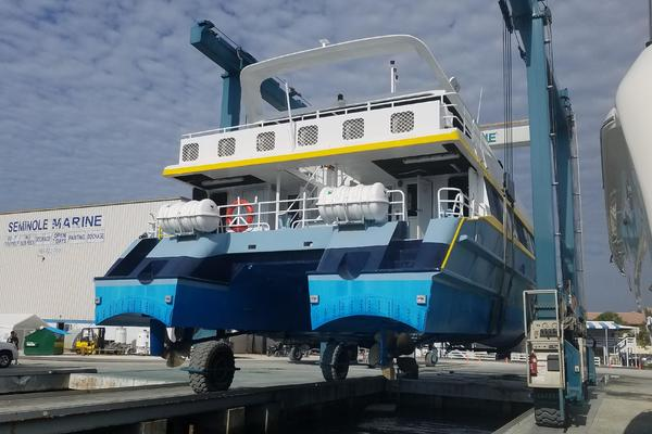 1999 Sabre Craft 73' Passenger Fast Ferry  | Picture 1 of 48
