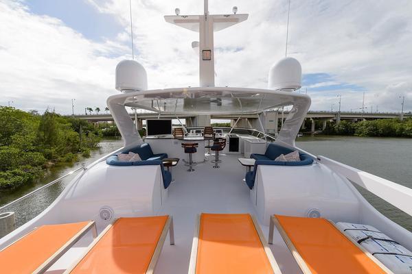2005Hatteras 75 ft Sport Deck   ODYSSEY