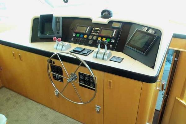Picture Of: 74' Hatteras Motoryacht Sport Deck 1996 Yacht For Sale | 3 of 81