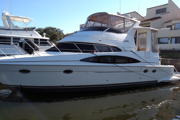 46' Carver 444 Cockpit Motor Yacht 2004 | Too Old to Sea