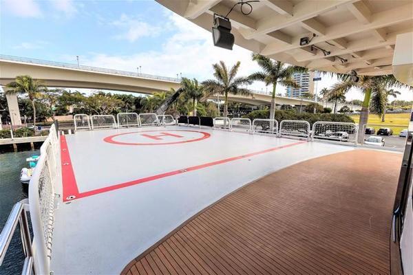 Port Side Sky Lounge Helipad