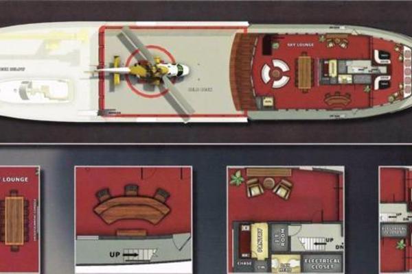 Sky Lounge and Helipad Deck