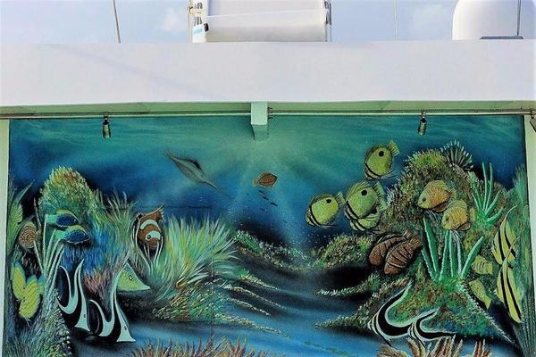 Pool Mural