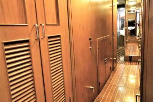 Companionway and Engine Access