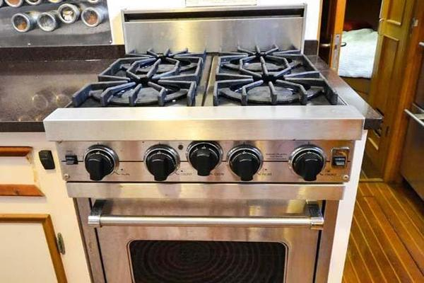 Gas Viking Range and Oven