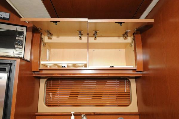 Galley Storage Above Counter