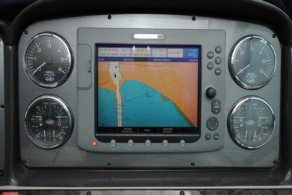 Helm Instruments and Chartplotter