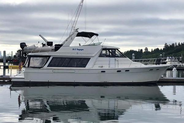 54' Bayliner 4788 Pilothouse 1995 | Rc Voyager