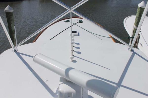Radar and Foredeck