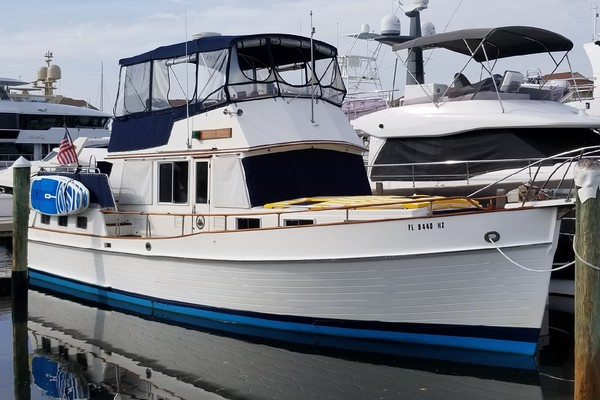 42' Grand Banks 42 Motoryacht 1987 | Wild & Wonderful