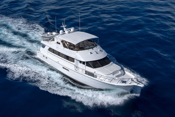 Picture Of: 75' Hatteras Cockpit Motor Yacht 2000 Yacht For Sale | 3 of 59