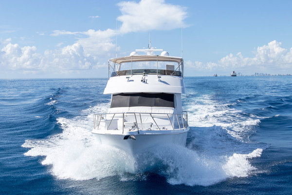 Picture Of: 75' Hatteras Cockpit Motor Yacht 2000 Yacht For Sale | 2 of 59