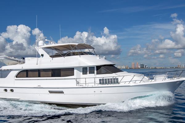75' Hatteras Cockpit Motor Yacht 2000 | Getaway