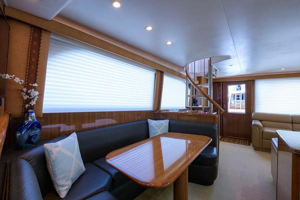 2005Viking 61 ft 61 Enclosed Bridge   YA YA YA