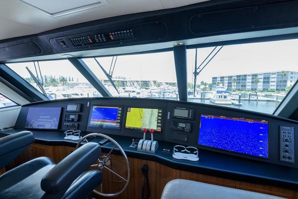 2005Viking 61 ft 61 Enclosed Bridge   YA YA YA
