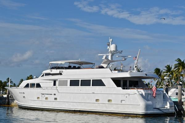Picture Of: 105' Broward Raised Bridge Motor Yacht 1990 Yacht For Sale | 2 of 58