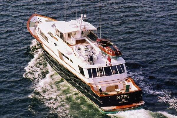 121' Denison Raised Bridge Cockpit Motor Yacht 1986 | News