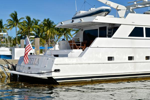 Picture Of: 104' Broward Cockpit Motor Yacht 1989 Yacht For Sale | 4 of 74
