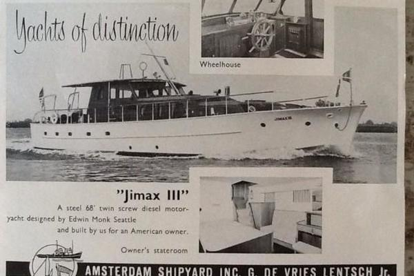 Picture Of: 68' De Vries Lentsch 68 Motoryacht 1953 Yacht For Sale | 3 of 103