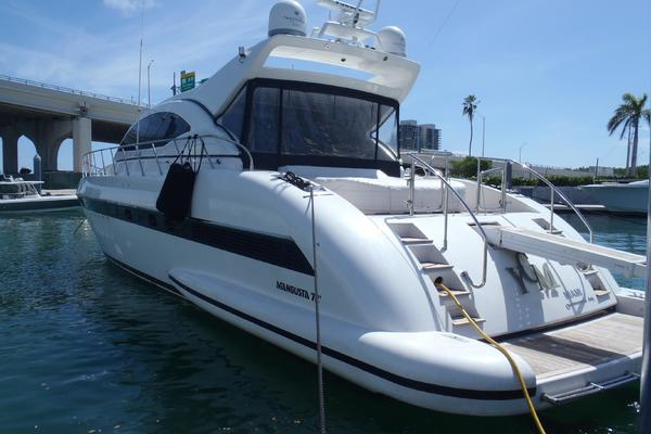 Picture Of: 72' Mangusta 72 2006 Yacht For Sale | 4 of 47