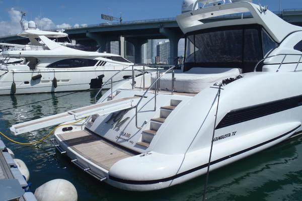 Picture Of: 72' Mangusta 72 2006 Yacht For Sale | 3 of 47