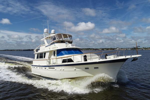 53' Hatteras 53 Motor Yacht 1984 | Gabriela