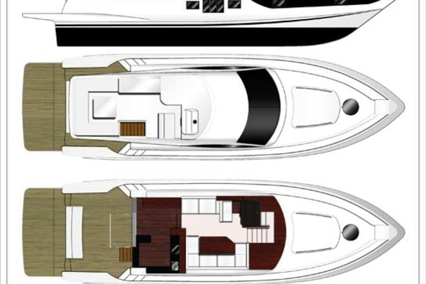 2020 Dyna Yachts 52' Flybridge  | Picture 5 of 18