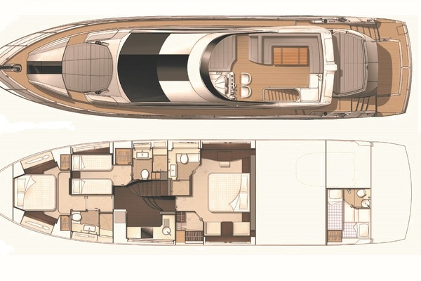 2014 Sunseeker 68' Sport  LONG WAY ROUND   Picture 4 of 36