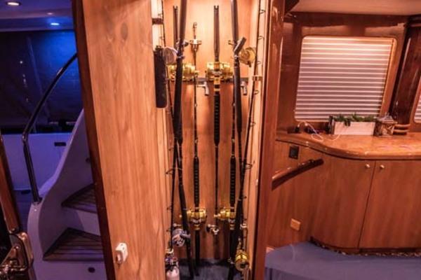 Rod Storage Locker Port Aft Salon
