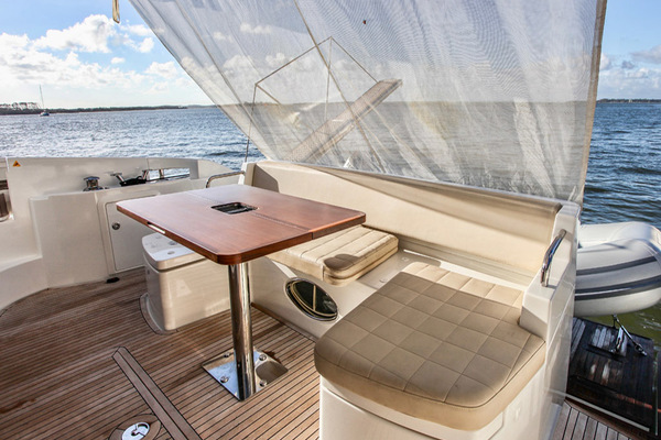 Aft Deck with Suncover
